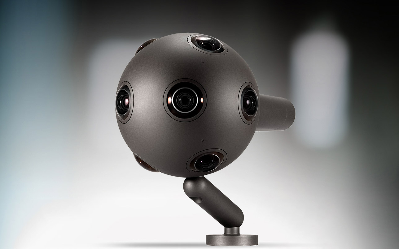 OZO VR Camera from Nokia Marks a Rebirth for the Phone Giant